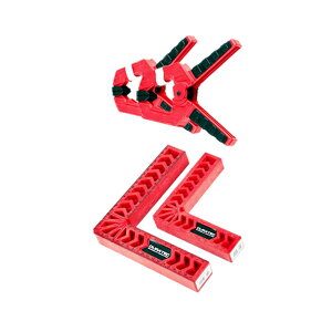 【送料無料】L型コーナー クランプ 4点セット 直角定規 固定 90度 固定 DIY 木工 ハンドツール 圧着 溶接 切断 工具 KOKULAP