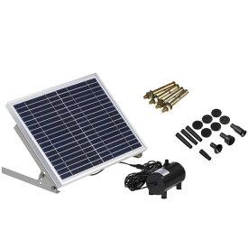 ポンドポンプ ソーラー 噴水 セット 池ポンプ 太陽光パネル 電源不要 アタッチメント ベランダ 庭 小型 プール 家庭用 ◇RZ-BSV-SP100