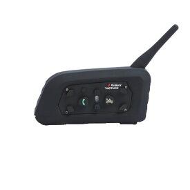 バイク マルチ インカム インターコム Bluetooth ワイヤレス 1000m 音楽 通話 ツーリング スポーツ トランシーバー iPhone スマホ V6-1200