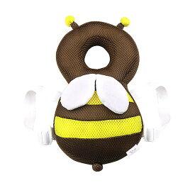 おまもりBEE 赤ちゃん 転倒防止 ハチ クッション リュック 頭 守る サイズ調整可能 超軽量 安全 安心 かわいい 男の子 女の子 SAFEBEE