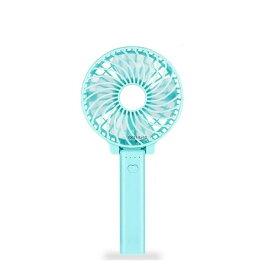 【数量限定特価】ポケット扇風機 ブルー 持ち歩ける 携帯 扇風機 USB扇風機 充電式 手持ち ハンディ ファン 卓上 風量3段階調節 POKETSEN-BL