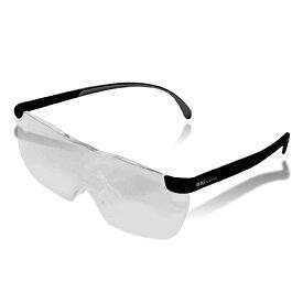 ビッグビジョン BIGVision 拡大鏡 1.6倍 眼鏡の上から使える 軽量 収納袋付 メガネ BIGVISION