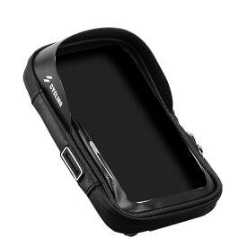 自転車 バイク スマホ ホルダー 防水 防圧 遮光 収納可能 多機能 携帯ホルダー 6.0インチスマホ対応 BAISSUA