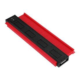 型取り ゲージ 250mm コンターゲージ 測定 工具 計測 DIY プロファイルゲージ 角度 曲線 目盛 定規 フレームゲージ KATAGAGE