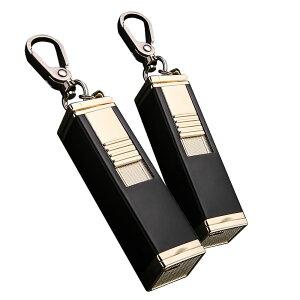2台セット 灰皿搭載 電熱式 ライター シルバー 電熱 電子 ターボライター USB充電式 煙草 タバコ 喫煙 グッズ 2-HAIZALI-SV