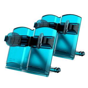 ブックスタンド ブルー 2台セット 書見台 本立て 読書 本 タブレット スマホ キッチン 献立 ハンズフリー 角度調節 STBOOKN-BL