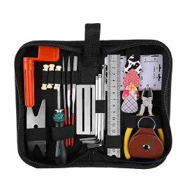 ギター メンテナンスキット 修理ツール ギター クリーニング ウクレレ ベース メンテナンスセット 六角レンチ ピック GITAMETE