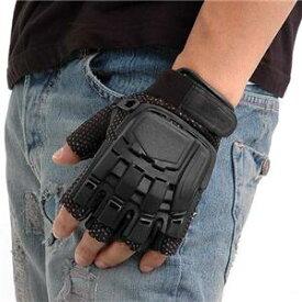 SWAT プロテクトタイプグローブ フィンガーレス ブラック Stopseller