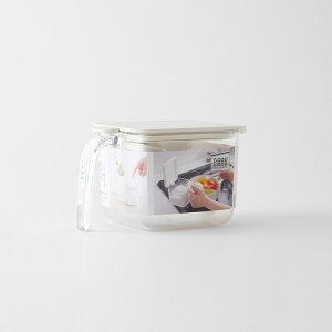 マーナ調味料ポットワイドK775/GOODLOCKCONTAINER/調味料入れ/砂糖入れ/塩入れ/調味料/ワンタッチオープン/キッチンポット/密閉ケース