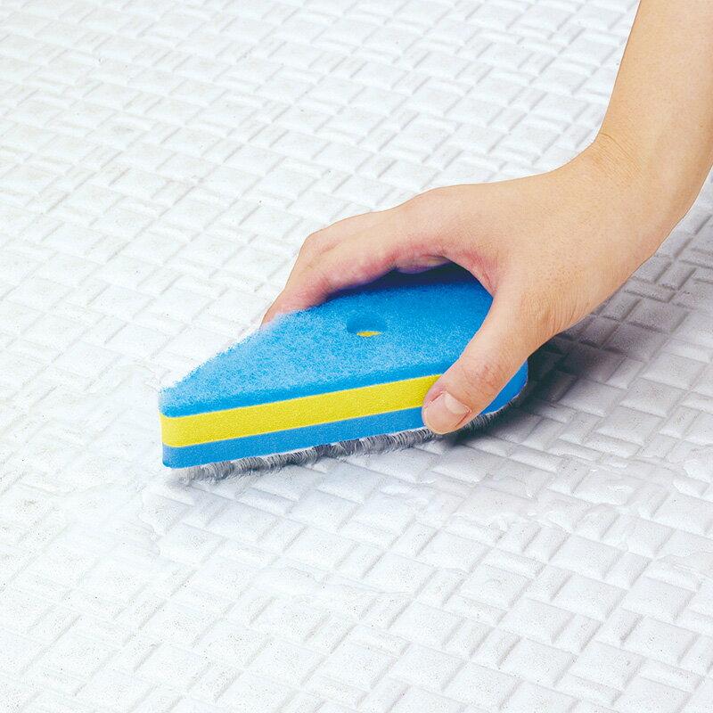 【SALE!】マーナ 掃除の達人 凸凹面ブラシスポンジ W397B