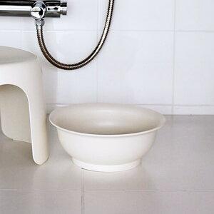【SALE!】マーナ MARNA60 ウォッシュボウル(洗面器)W402Nホワイト 白 シンプル 風呂おけ バケツ お風呂