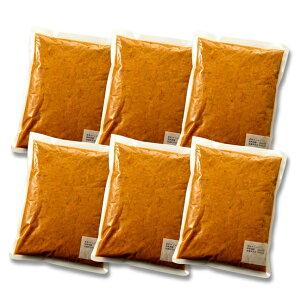 【送料込】業務用大容量1kgパック ジャワ風ビーフカレー(1kg×6袋)