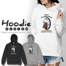 パーカー レディース メンズ スウェット パーカー プルオーバー hoodie 長袖 フード付き ペア カップル XS S M L XL XXL おそろ 大人かわいい おしゃれ 馬 競馬 ロゴ 動物 ポニー イラスト 韓国ファッション 可愛い