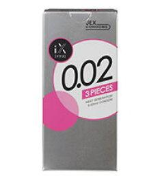 JEX iX(ikusu)0.02 600 JEX避孕套