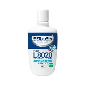 【10個セット】【即納】【送料無料】ラクレッシュ L8020菌使用 マウスウォッシュ ノンアルコールタイプ 300mL×10個セット【正規品】