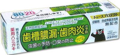 薬用ハミガキ トゥースプロテクト ほんのりレモン味 100g【正規品】