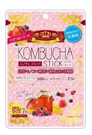 ユーワ KOMBUCHA STICK 2g×7包 コンブチャ スティックトロピカルベリー風味 【正規品】 ※軽減税率対応品