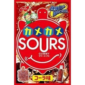 【3個セット】 ノーベル製菓 サワーズ(SOURS) コーラ 45g×3個セット 【正規品】 ※軽減税率対応品