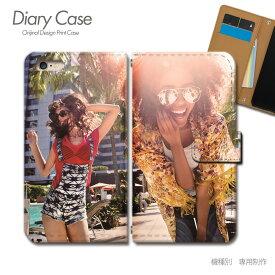 スマホケース 手帳型 全機種対応 ポスター 携帯ケース d017601_01 PHOTO 女性 セクシー 夏 海 ケース カバー iphoneSE2 iphone12 PRO Xperia 5 II GALAXY OPPO AQUOS R5G