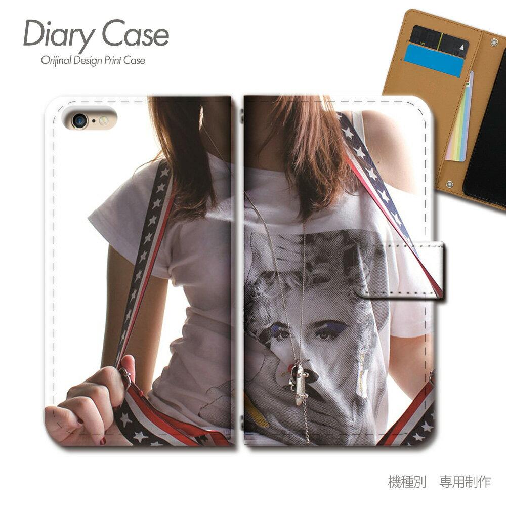 スマホケース 手帳型 全機種対応 PHOTO 女性 セクシー モデル iphoneX Xperia XZ2 GALAXY S9/S9+ SH-03J SHV39 iphone8 AQUOS R ポスター01 [d017602_02]