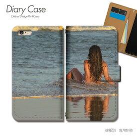 スマホケース 手帳型 全機種対応 ポスター 携帯ケース d017602_05 PHOTO 女性 セクシー 水着 ケース カバー iphone11 PRO MAX Xperia 5 GALAXY S10 iphone8 AQUOS R3 X5