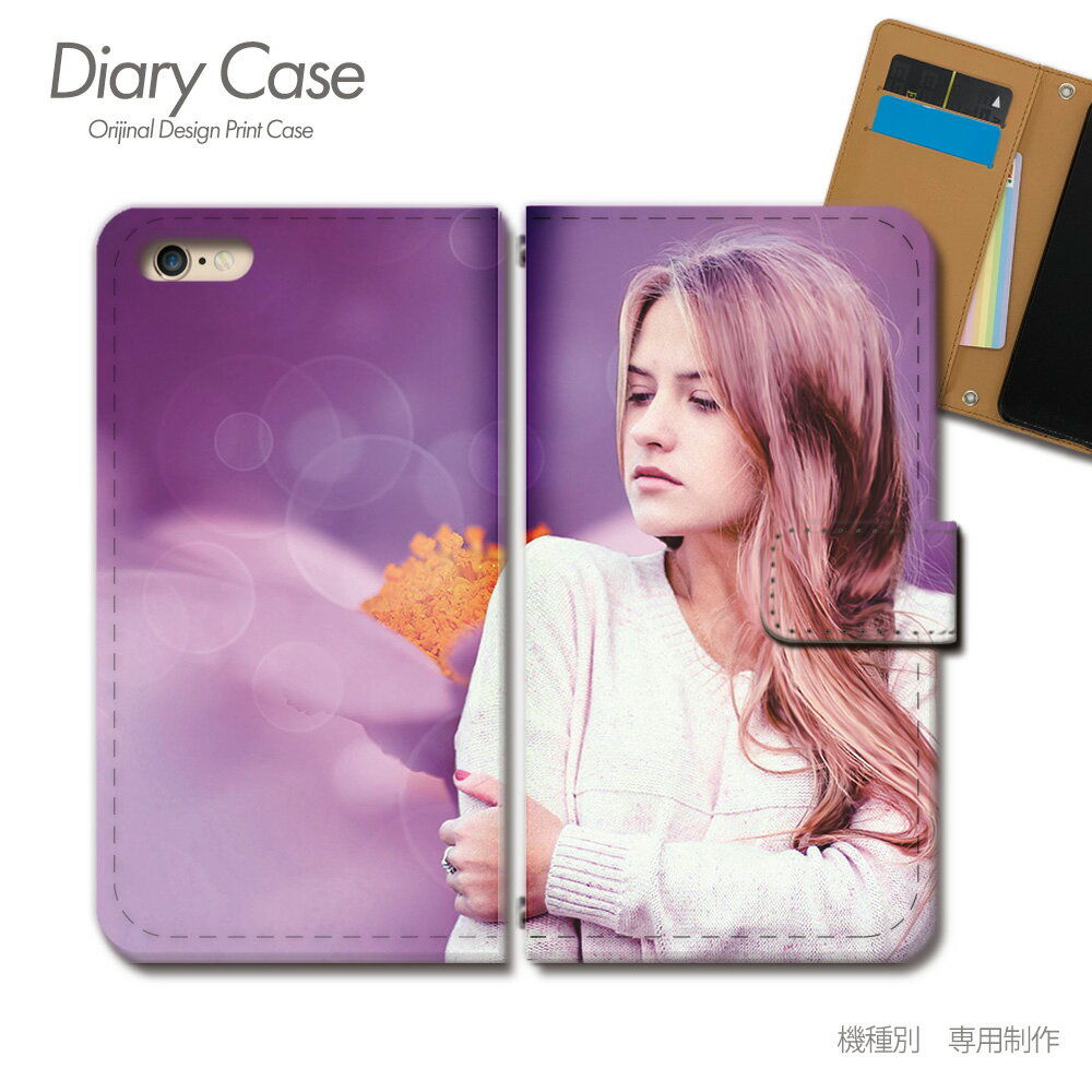 スマホケース 手帳型 全機種対応 PHOTO 女性 セクシー モデル iphoneX Xperia XZ2 GALAXY S9/S9+ SH-03J SHV39 iphone8 AQUOS R ポスター01 [d017604_05]