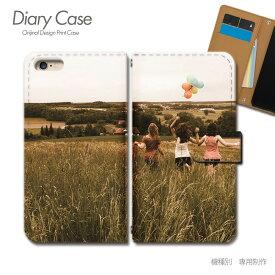 スマホケース 手帳型 全機種対応 ポスター 携帯ケース d017704_01 PHOTO ポスター 女性 草原 ケース カバー iphone11 PRO MAX Xperia 5 GALAXY S10 iphone8 AQUOS R3 X5