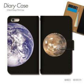 スマホケース 手帳型 全機種対応 ポスター 携帯ケース d018103_02 PHOTO 宇宙 地球 月 星 銀河 ケース カバー iphone11 PRO MAX Xperia 5 GALAXY S10 iphone8 AQUOS R3 X5
