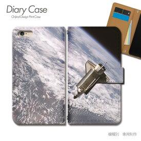 スマホケース 手帳型 全機種対応 ポスター 携帯ケース d018104_01 PHOTO 宇宙 地球 シャトル 衛星 ケース カバー iphone11 PRO MAX Xperia 5 GALAXY S10 iphone8 AQUOS R3 X5