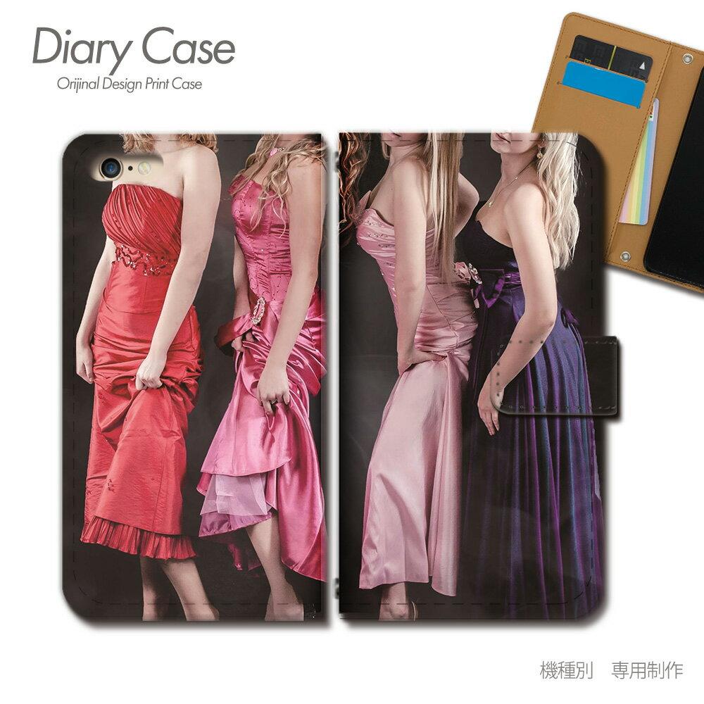 スマホケース 手帳型 全機種対応 PHOTO 女性 セクシー ドレス iphoneX Xperia XZ2 GALAXY S9/S9+ SH-03J SHV39 iphone8 AQUOS R sexy03 [d018504_01]
