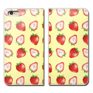 Huawei P10 Plus VKY-AL00 ケース 手帳型 ベルトなし 苺 いちご イチゴ フルーツ 果物 スマホ カバー 食べ物 フード eb25803_02