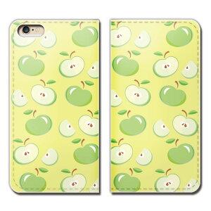 Galaxy A30 UQ mobile SCV43U スマホ ケース 手帳型 ベルトなし リンゴ りんご 林檎 果物 フルーツ スマホ カバー 食べ物 フード eb25803_05