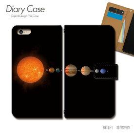 スマホケース 手帳型 全機種対応 ポスター 携帯ケース d032604_01 宇宙 地球 ケース カバー iphoneSE2 iphone12 PRO Xperia 5 II GALAXY OPPO AQUOS R5G