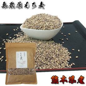 有機栽培の国産もち麦500g 30年以上無農薬・化学肥料不使用の畑で栽培 熊本県産