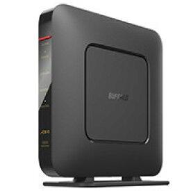 WSR-1800AX4S-BK (ブラック) [無線LAN親機 / Wi-Fi 6(11ax)対応 / 1201 Mbps + 573 Mbps / WSR-1800AX4シリーズ]