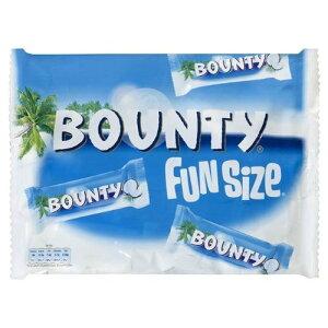 バウンティ ミルクチョコレート ココナッツ入り チョコレートバー 2袋セット Bounty Milk Chocolate Covered Coconut Fun Size x 2 ココナッツ ココナツ入り お菓子 輸入菓子 イギリス【英国直送品】