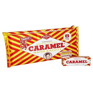 Tunnock タンノック ミルクチョコレート キャラメル ウエハース 30g x16個 Tunnock's Milk Chocolate Caramel Wafers キャラメルウエハース チョコレート お菓子 イギリス 海外【英国直送品】