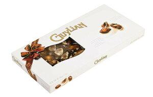 ギリアン チョコレート ギフトボックス シーシェル 貝型 Guylian Seashell Window Brown Ribbon Gift Box 500g ベルギーチョコ お菓子【海外直送品】