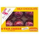 タンノック ミルクチョコレート ティーケーキ 6個入り 144g TUNNOCK'S Tea Cakes - Real Milk ChocolateBox チョココ…