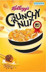 ケロッグ クランチーナッツ コーンフレーク Kellogg's Crunchy Nut Cornflakes (500g) 【海外直送品】