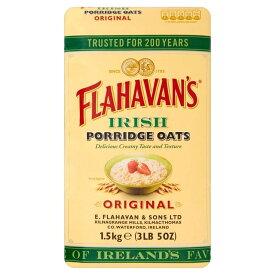 アイリッシュ オート麦 ポリッジ Flahavan's Irish Porridge Oats Original (1.5Kg) 朝食 麦 【海外直送品】