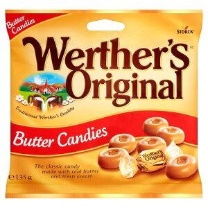 ヴェルタース オリジナル  (Werther's Original Butter Candy)  バターキャンディ 135g 世界中の人々に愛されている伝統的な製法で作られたなめらかでクリーミーキャンディ【英国直送品】