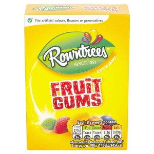 Rowntree's Fruit Gums Carton (Pack of 9)【英国直送品】