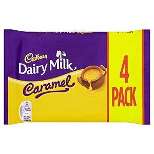 Cadbury Dairy Milk Caramel 4 Pack 148g - (Cadbury) 酪農ミルクキャラメル4パック148グラム [並行輸入品]