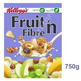 Kellogg's Fruit 'n' Fibre (750g) ケロッグ フルーツシリアル 繊維たっぷり! 750グラム