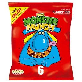 Walkers Monster Munch - Flamin' Hot (6x22g) ( 6X22G )