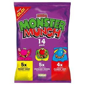 Walkers Monster Munch - Variety (12x22g) バラエティーパック( 12X22G )