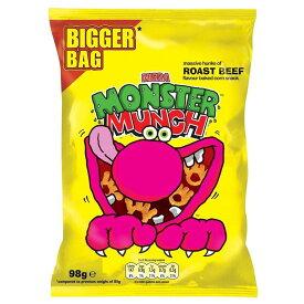 Walkers Monster Munch - Roast Beef (98g) モンスターマンチ - ローストビーフ( 98グラム)
