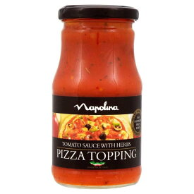 Napolina Tomato Sauce with Herbs - Pizza Topping (300g) ハーブnapolinaのトマトソース - ピザのトッピング( 300グラム)