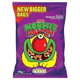 Walkers Mega Monster Munch - Pickled Onion (98g) by Groceries [並行輸入品]